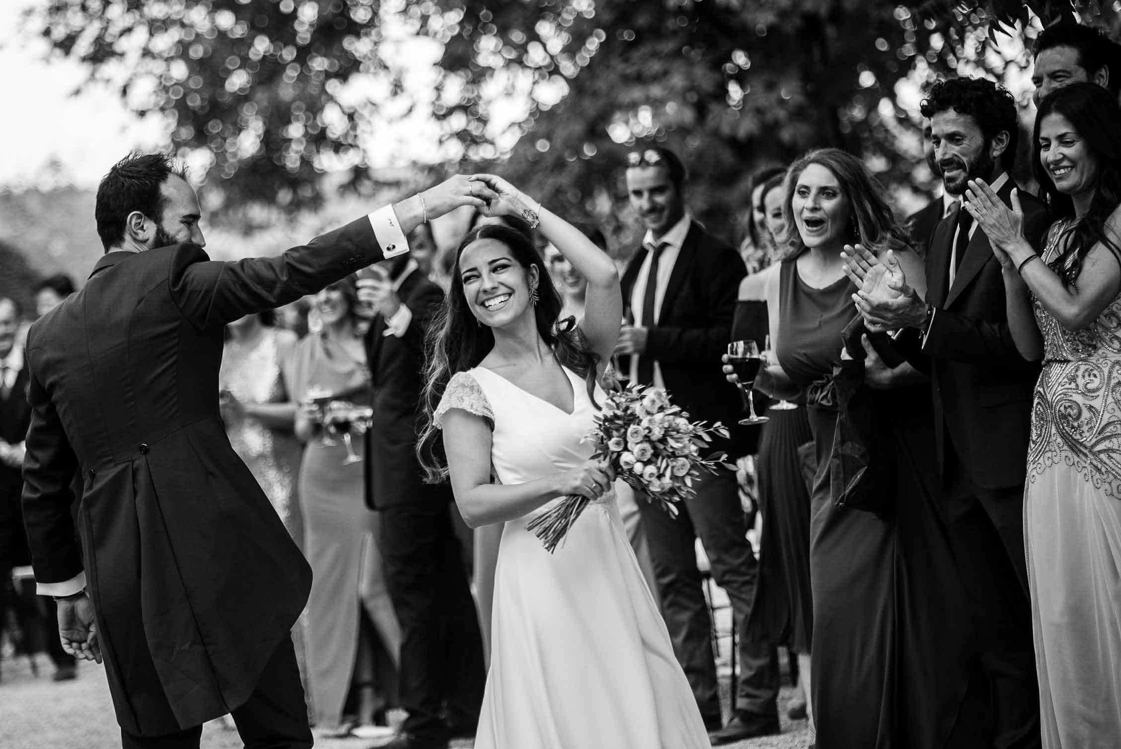La boda de Arantxa y Javier en Madrid