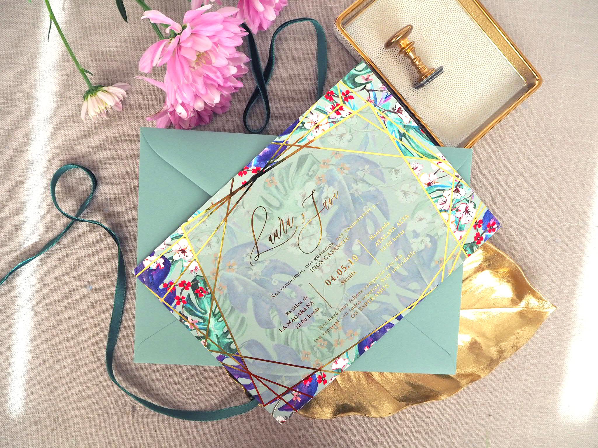 Estudio Requetebién: Tus invitaciones de boda personalizadas