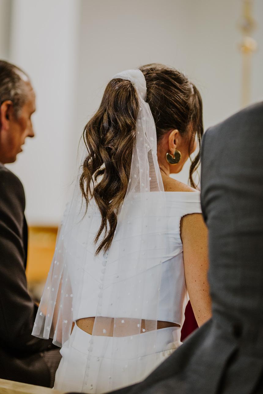 Novias con coleta: 10 ideas para tu boda