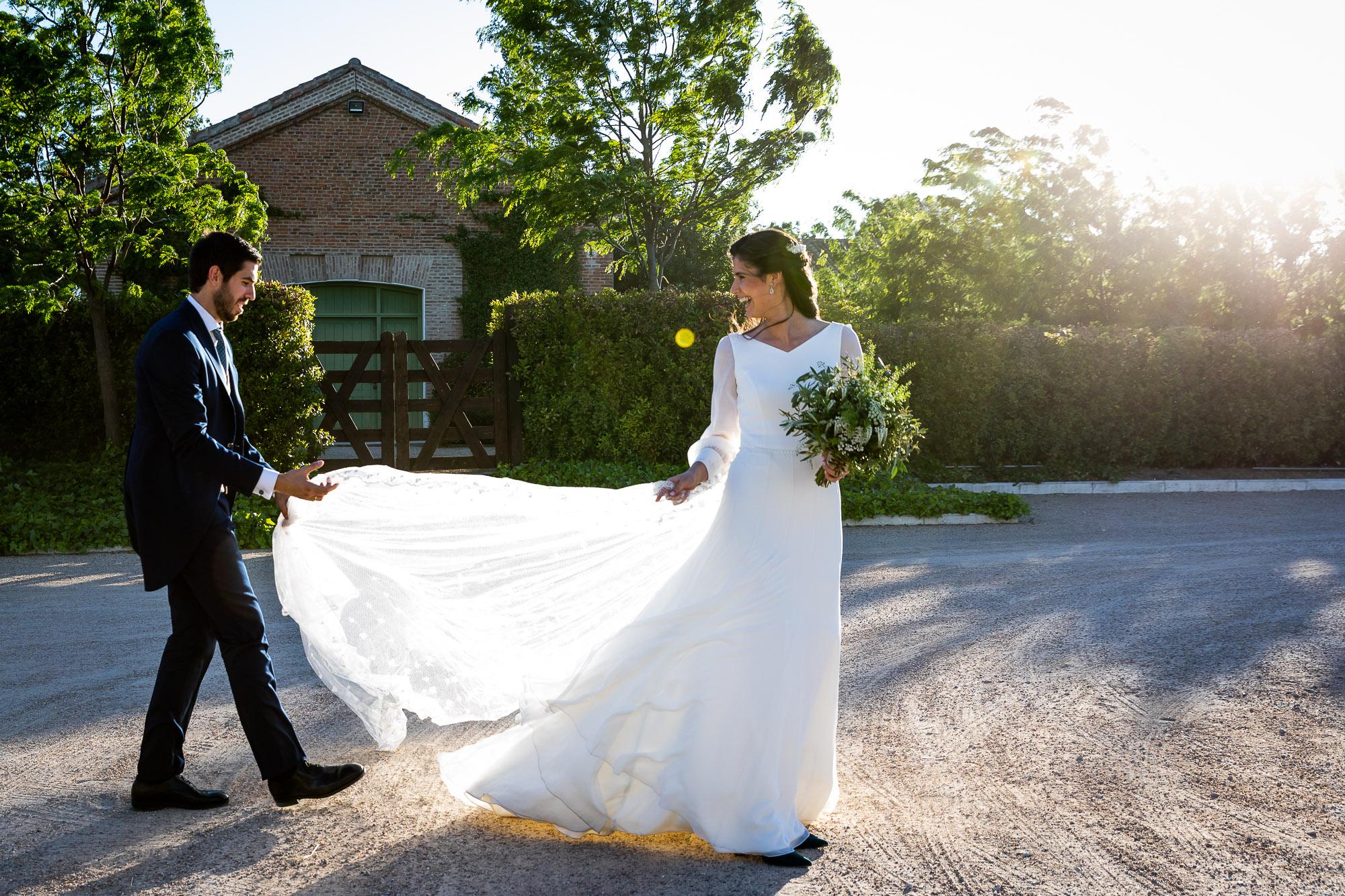 La boda de Leyre y Sebas en Finca Las Tenadas