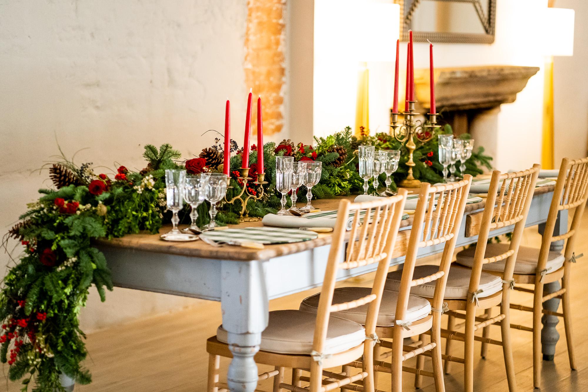 Mesas de Navidad: Ideas para decorarlas
