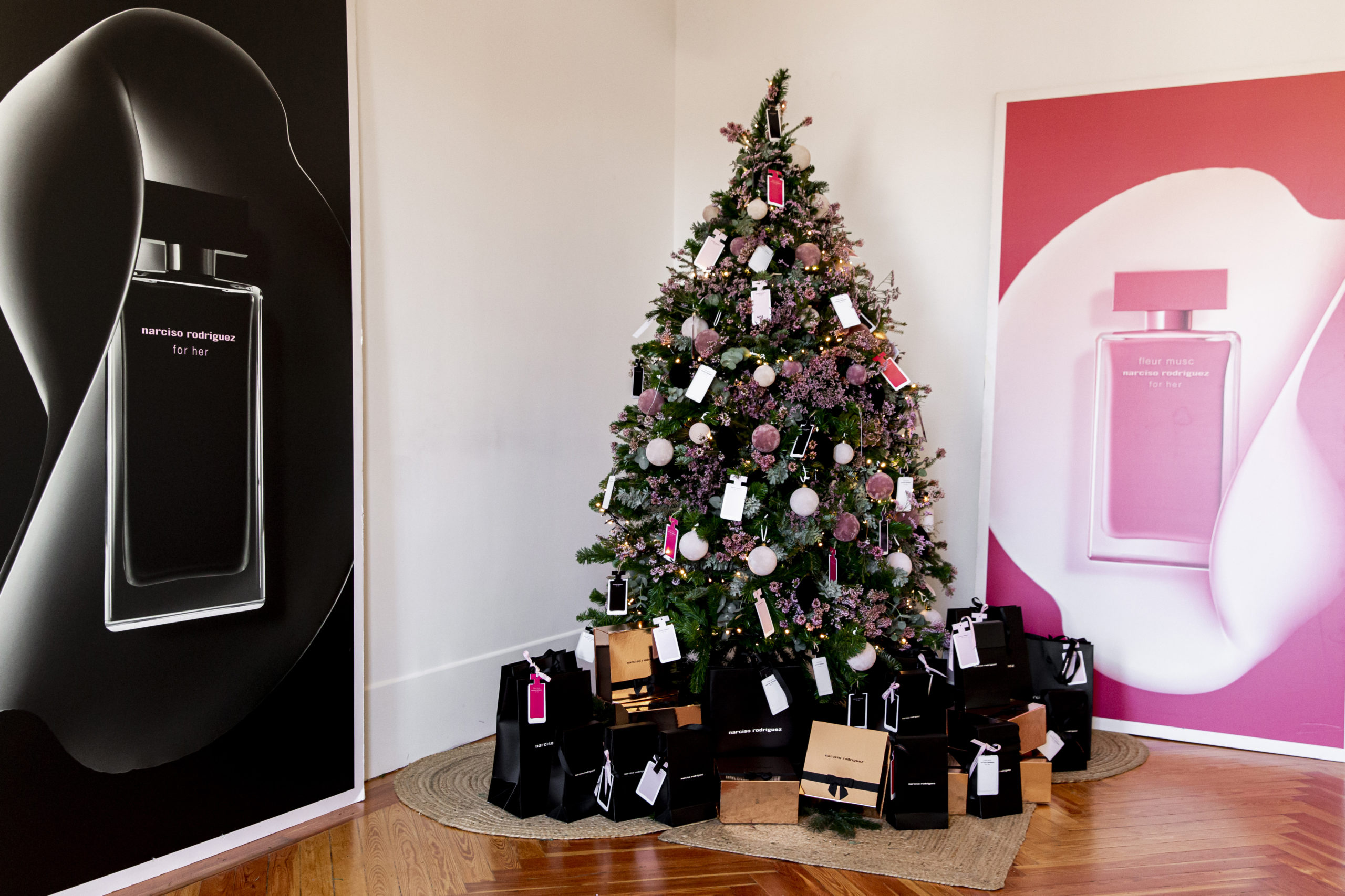 Asistimos a #NarcisoRodriguezParfums for her Xmas Wrapping Workshop