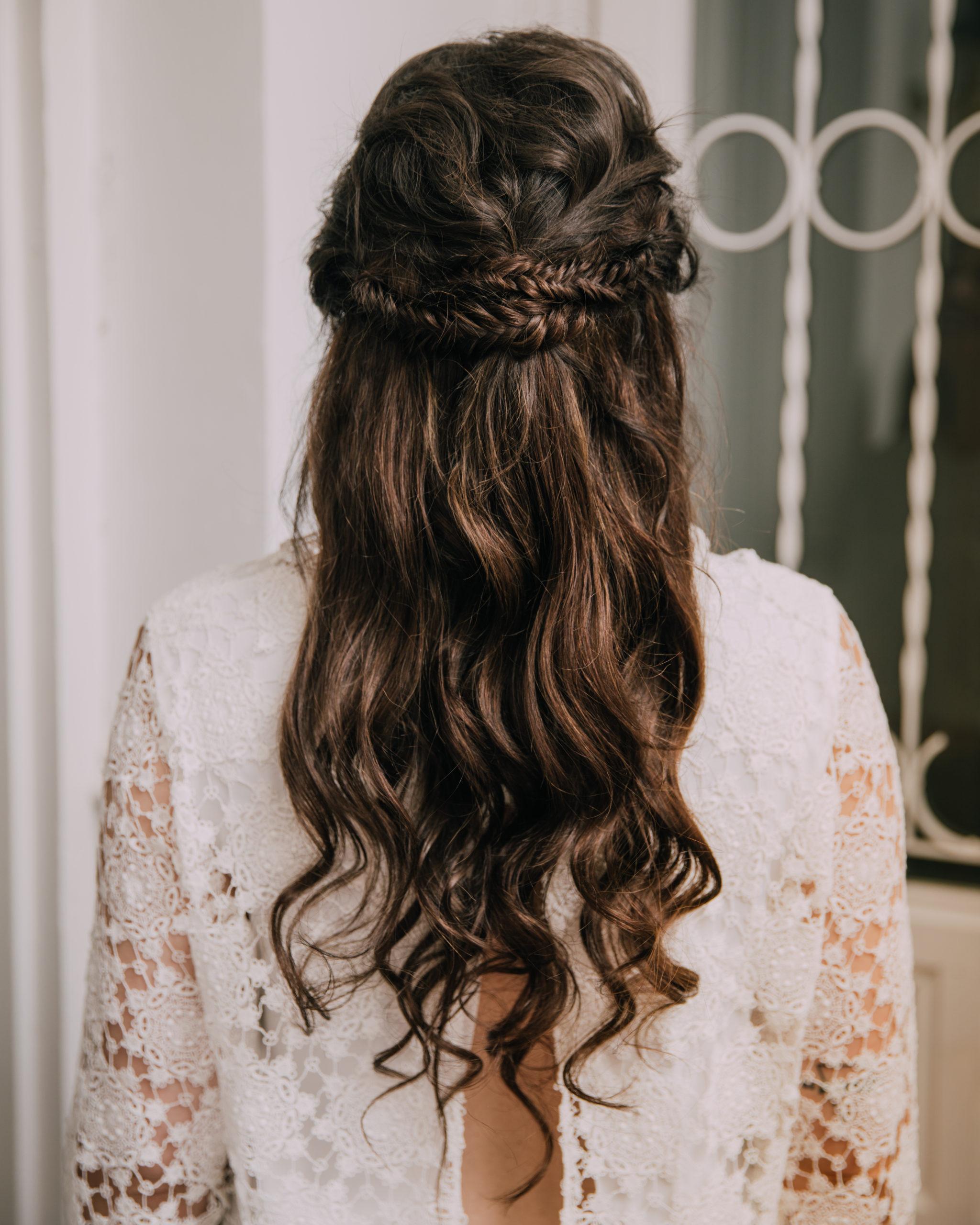 Cuatro peinados para novias de la mano de Oui Novias