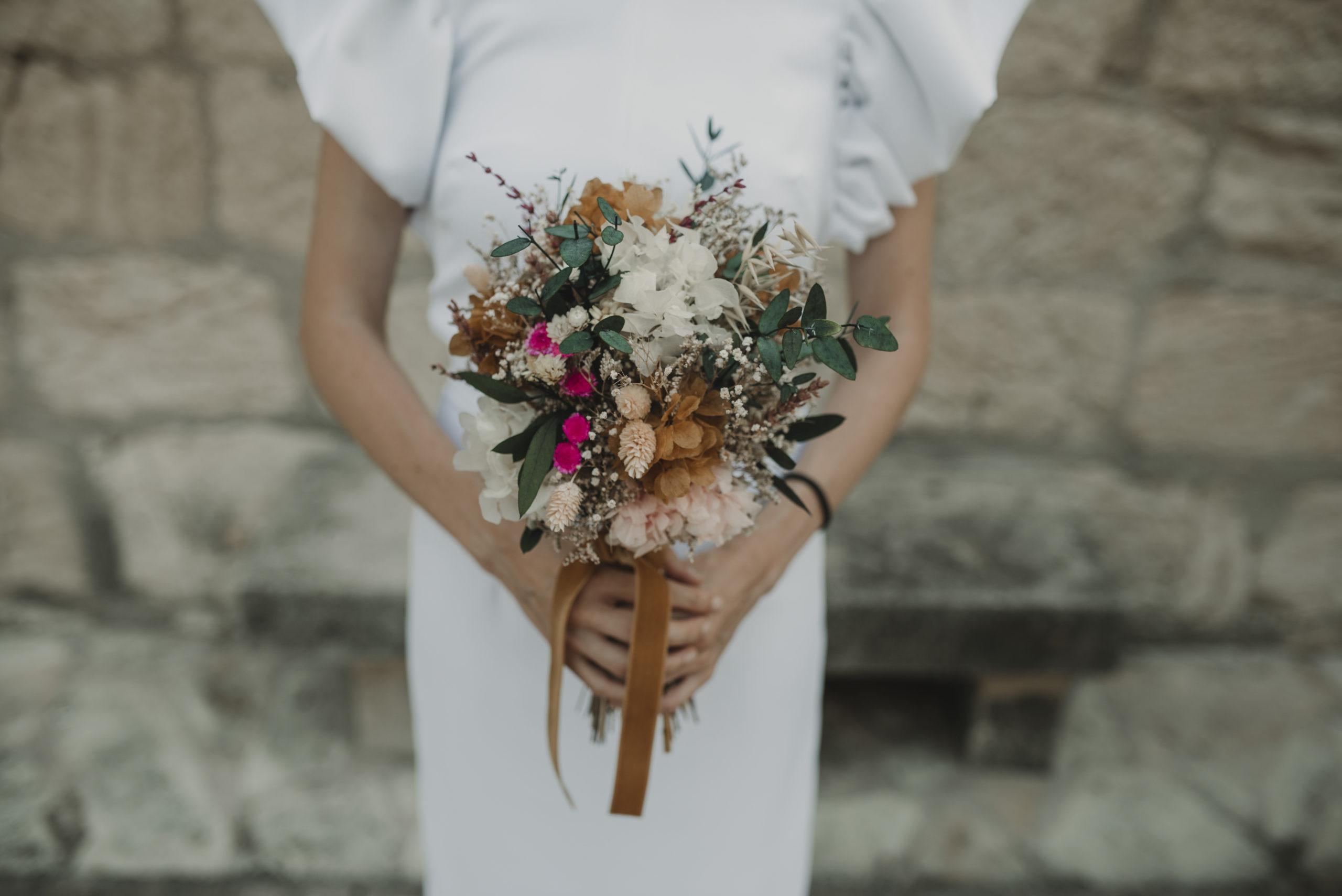 Ramos de novia preservados de Le Graine: 100% personalizados
